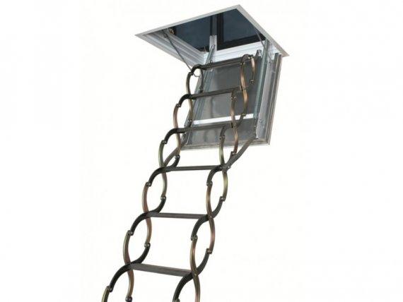 FAKRO металлическая огнестойкая лестница LSF