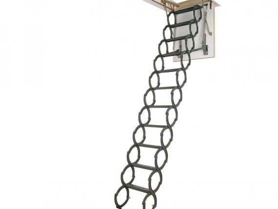 FAKRO металлическая термоизоляционная чердачная лестница LST