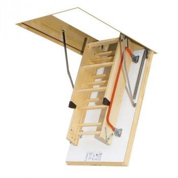 FAKRO термоизоляционная складная чердачная лестница LTK